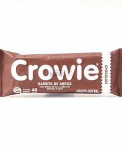 CROWIE BARRITA ARROZ BAÑO CHOCOLATE X 1 UN
