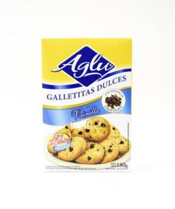 AGLU GALLETITAS CON GOTITAS DE CHOCOLATE X 180 GR