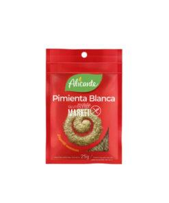 ALICANTE PIMIENTA BLANCA MOLIDA X 25 GR