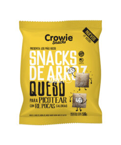 CROWIE SNACK QUESO X 50 GR