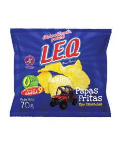 LEQ PAPAS FRITAS ESPAÑOLAS X 70 GR