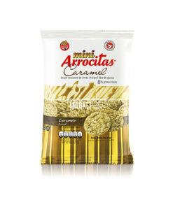 MINI ARROCITAS GALLETITAS DE ARROZ CARAMELO X 53 GR